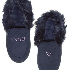 Victorias Secret VS ANGEL Velvet Slippers  S (5-6)